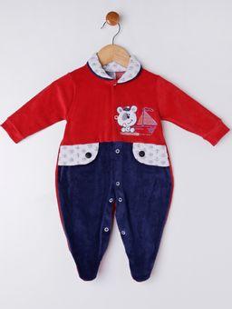 Macacao-Infantil-Para-Bebe-Menino---Vermelho-azul-Marinho-P