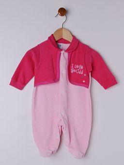 Macacao-Plush-Infantil-para-Bebe-Menina---Rosa-Pink