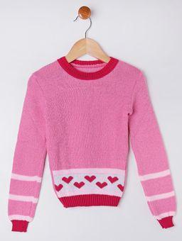 Blusao-Tricot-Infantil-Para-Menina---Rosa-6