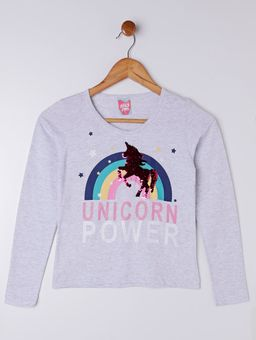 Blusa-Unicornio-Manga-Longa-Infantil-para-Menina---Cinza
