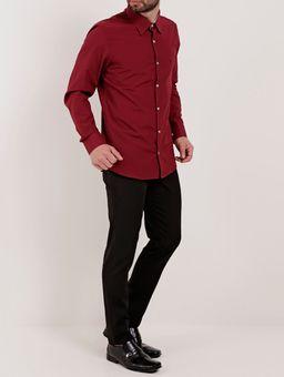 Camisa-Slim-Manga-Longa-Masculina-Vermelho-2