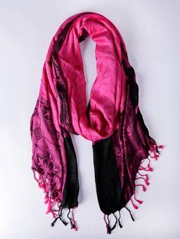 Lenco-Feminino-Rosa-Pink-preto