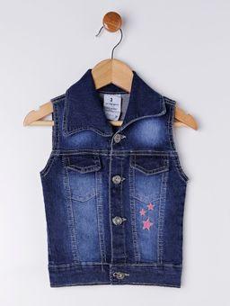Colete-Jeans-Infantil-para-Menina---Azul