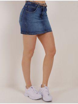 Saia-Curta-Jeans-Feminina-Uber-Azul-36