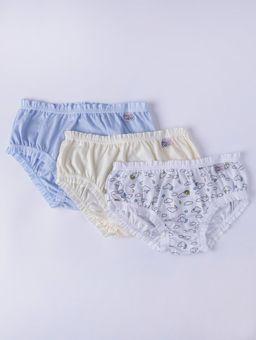 Kit-com-03-Calcinhas-Infantil-para-Bebe-Menina---Branco-amarelo-azul