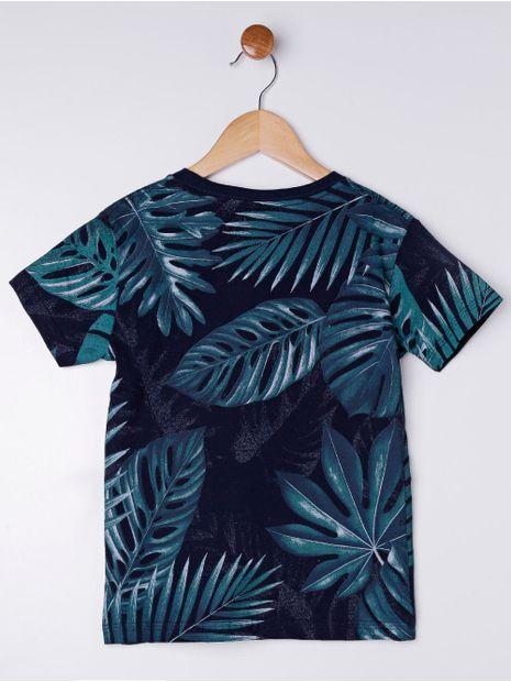 Camiseta-Manga-Curta-Infantil-Para-Menino---Azul-Marinho-6