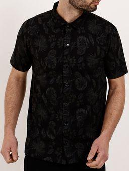 Camisa-Manga-Curta-Masculina---Preto-P