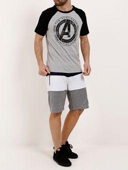 Camiseta-Manga-Curta-Masculina-Marvel-Cinza-preto