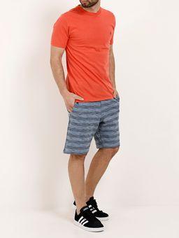 Camiseta-Manga-Curta-Masculina-Fido-Dido-Laranja-P