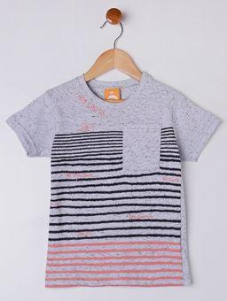 Camiseta-Manga-Curta-Infantil-Para-Menino---Cinza-1