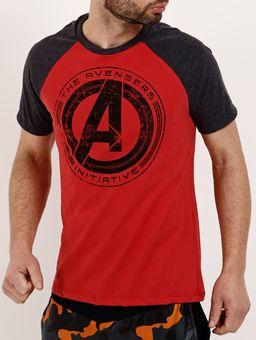 Camiseta-Manga-Curta-Masculina-Marvel-Chumbo-vermelho