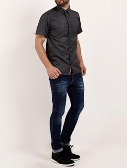 Camisa-Manga-Curta-Masculina-Amil-Chumbo-1