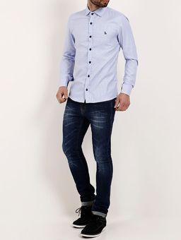 Camisa-Manga-Longa-Masculina-Amil-Azul-1
