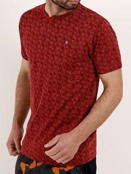 Camiseta-Manga-Curta-Masculina-Vermelho-P