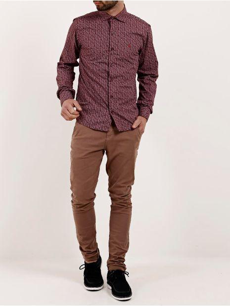Camisa-Manga-Longa-Masculina-Amil-Bordo-1