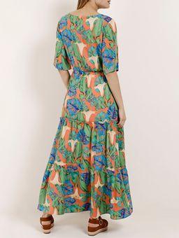 Vestido-Longo-Feminino-Autentique-Laranja-P