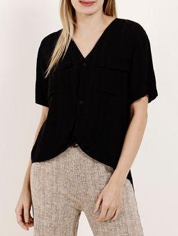 Camisa-Manga-Curta-Feminina-Autentique-Preto-P