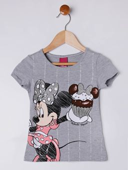 Blusa-Manga-Curta-Disney-Infantil-Para-Menina---Cinza-6
