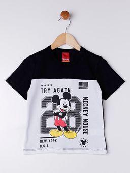 Camiseta-Manga-Curta-Disney-Infantil-Para-Menino---Branco-preto-6
