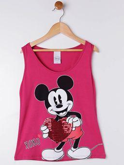 Blusa-Regata-Disney-Juvenil-Para-Menina---Rosa-16