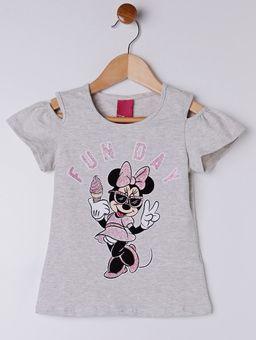 -Blusa-Manga-Curta-Disney-Infantil-Para-Menina---Cinza-6