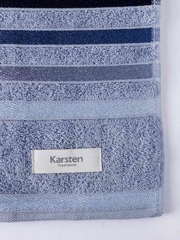 Toalha-Rosto-Karsten-Lumina-Azul