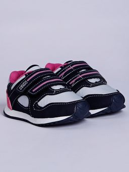 Tenis-Klin-Infantil-Para-Bebe-Menina---Azul-Marinho-rosa-Pink-17