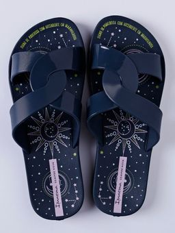 Chinelo-Slide-Feminino-Ipanema-Feel-Print-Azul