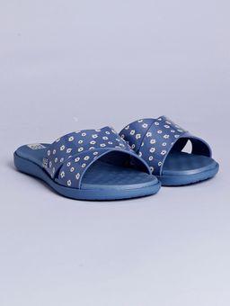 Chinelo-Slide-Feminino-Zaxy-Soul-Azul