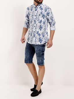Camisa-Manga-Longa-Masculina-Branco-azul-P
