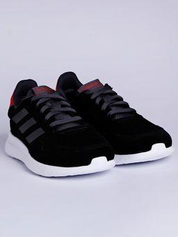 Tenis-Esportivo-Masculino-Adidas-Archivo-M-Preto-cinza-vermelho-37