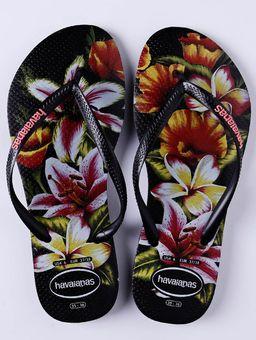Chinelo-Feminino-Havaianas-Slim-Floral-Preto-estampado-33-34