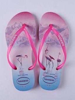 Chinelo-Feminino-Havaianas-Slim-Paisage-Rosa-azul-35-36