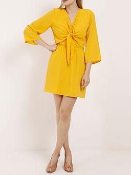 Vestido-Feminino-Autentique-Amarelo-P