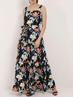Vestido-Longo-Feminino-Autentique-Preto-P
