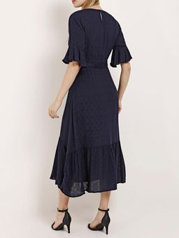Vestido-Midi-Feminino-Azul-Marinho-P