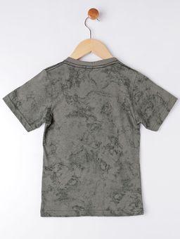 Camiseta-Manga-Curta-Infantil-Para-Menino---Verde-6