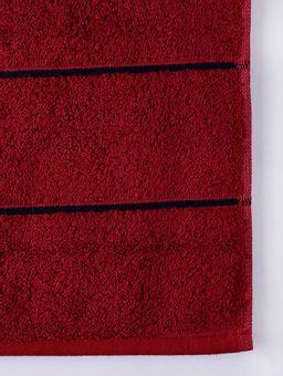 Toalha-de-Rosto-Vermelho