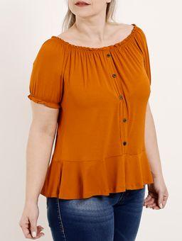 Blusa-Ciganinha-Plus-Size-Feminina-Autentique-Caramelo-G2