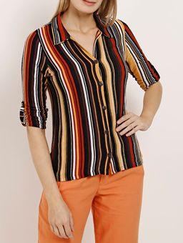 Camisa-Manga-3-4-Feminina-Autentique-Preto-P