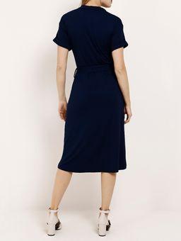 Vestido-Midi-Feminino-Azul-Marinho