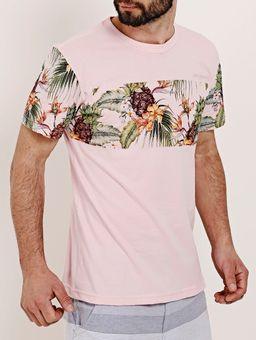 Camiseta-Manga-Curta-Masculina-Federal-Art-Rosa-P