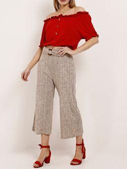 Blusa-Ciganinha-Manga-Curta-Feminina-Vermelho-P