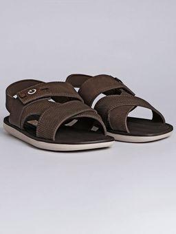 Sandalia-Masculina-Cartago-Bege-marrom-39