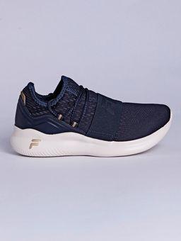 Tenis-Esportivo-Feminino-Fila-Trend-Azul-Marinho-dourado-34