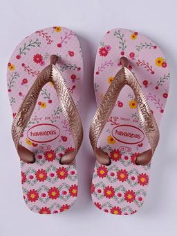 Chinelo-Havaianas-Kids-Flores-Infantil-Para-Menina---Rosa-rose-25-26