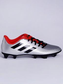 Chuteira-Masculina-Adidas-Artilheira-Iii-Cinza-vermelho-37