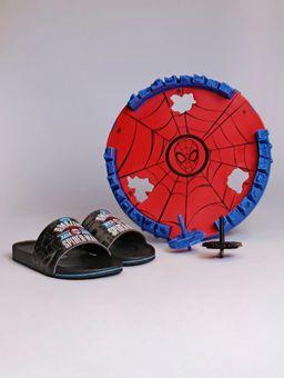 Chinelo-Slide-Homem-Aranha-Start-Fight-Infantil-para-Menino---Preto