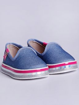 Slip-On-Molekinha-Infantil-para-Bebe-Menina---Azul