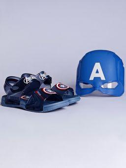 Sandalia-Avengers-Marvel-Hero-Glasses-Infantil-para-Menino---Azul